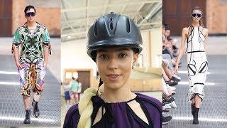 MELOVIN, топ-моделі та кінне шоу: показ Jean Gritsfeldt на манежі