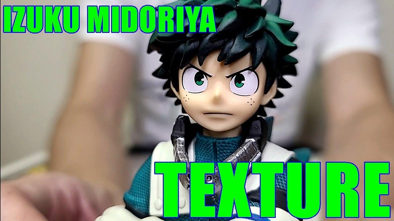 Izuku Midoriya Figure TEXTURE BANDAI Unboxing