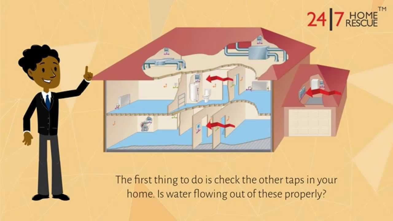 Why is no water coming out of my hot water tap? - 24|7 Home Rescue ...