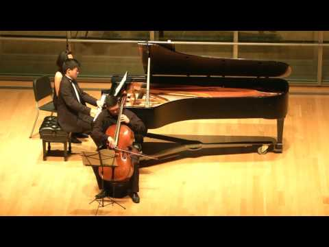 Brahms Sonata for Cello and Piano No.1 in E minor, Op.38, Ryan Louie and Michael Tsang