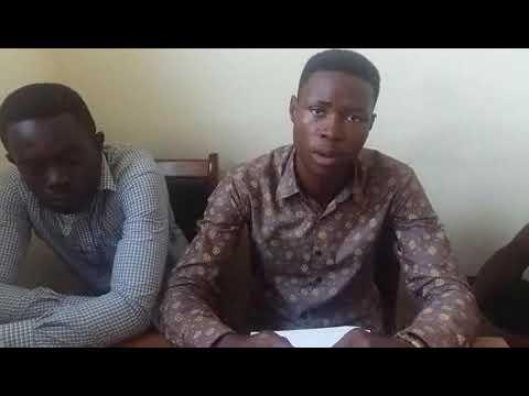 Ajumako students spit fire on leaders of Ghana