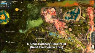 GW2 Tangled Depths Hero Points Guide