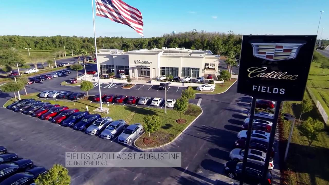 Fields Cadillac Jacksonville Florida >> Step Up To Luxury For Less At Fields Cadillac St Augustine