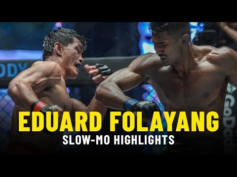 The Best Of Eduard Folayang | Slow-Mo Fight Highlights