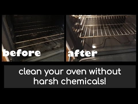 How to clean your oven | baking soda & vinegar!