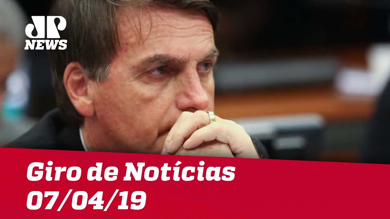 Giro de Notícias - 07/04