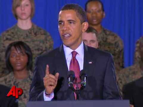 Obama Announces End to Iraq War in Aug. 2010