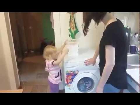 Детский бесфосфатный порошок для стирки