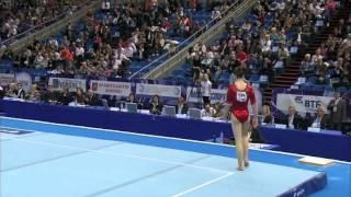 Aliya Mustafina FX European Championships 2013 AA