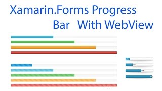 Xamarin. Forms Web view with progress bar, 2017