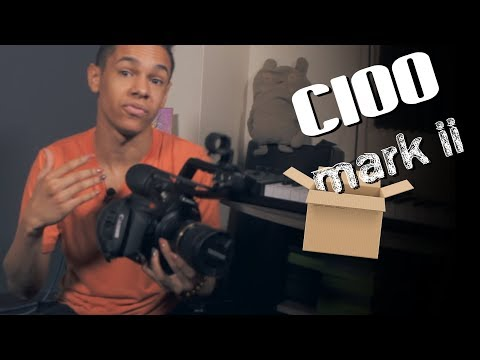 Why I Bought a Cinema Camera - Unboxing C100 Mark II
