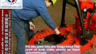 Casing pipe power tongs - China