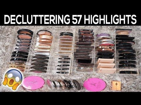 Biggest Highlighter Declutter EVER! 57 Gone! thumbnail