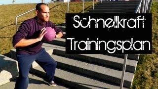 Ganzkörper: Schnellkraft- und Schnelligkeitstraining (Krafttraining, Trainingsplan, Athletik)
