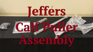 How to Assemble a Calf Puller | Jeffers Livestock