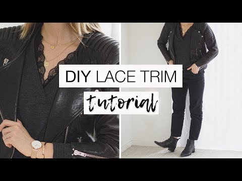 """DIY lace """"bralette"""" 