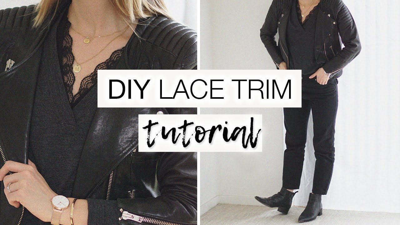 how to add trim to a tshirt