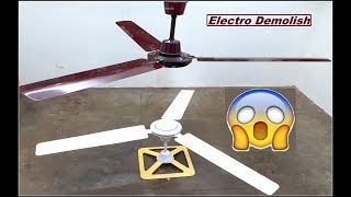 Ceiling Fan Falling on another Ceiling Fan While Both Spinning in Full Speed,  Part 9  HD1080p