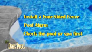 To reduce your children's risk of drowning, follow these safety tips