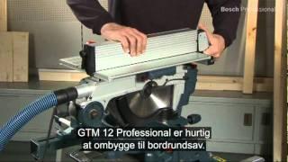 Bosch Combination Saw Gtm 12 Danish