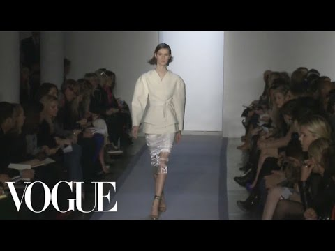 Peter Som Ready to Wear Fall 2012 Vogue Fashion Week Runway Show