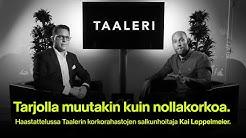 Tarjolla muutakin kuin nollakorkoa – haastattelussa Taalerin salkunhoitaja Kai Leppelmeier.