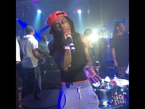 Lil Wayne Disses Young Thug & Rich Gang During Performance At Freelon's Bar & Groove