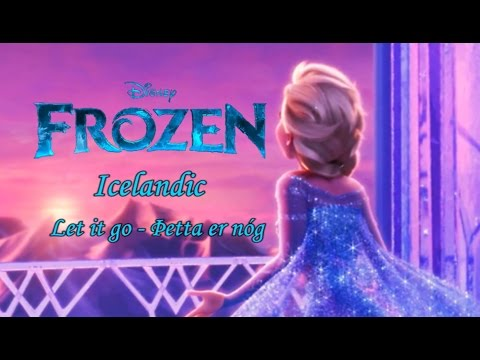 Frozen - Let it Go (Icelandic S+T)