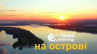 Рибалка в спеку на Дніпрі посеред Києва