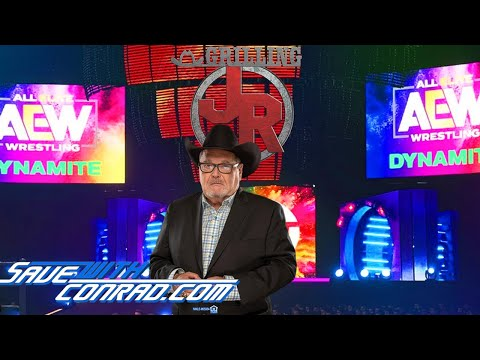 Jim Ross shoots on why he doesn't talk about AEW on this show