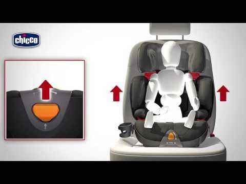 Chicco Oasis 2-3 FixPlus | обзор автокресла