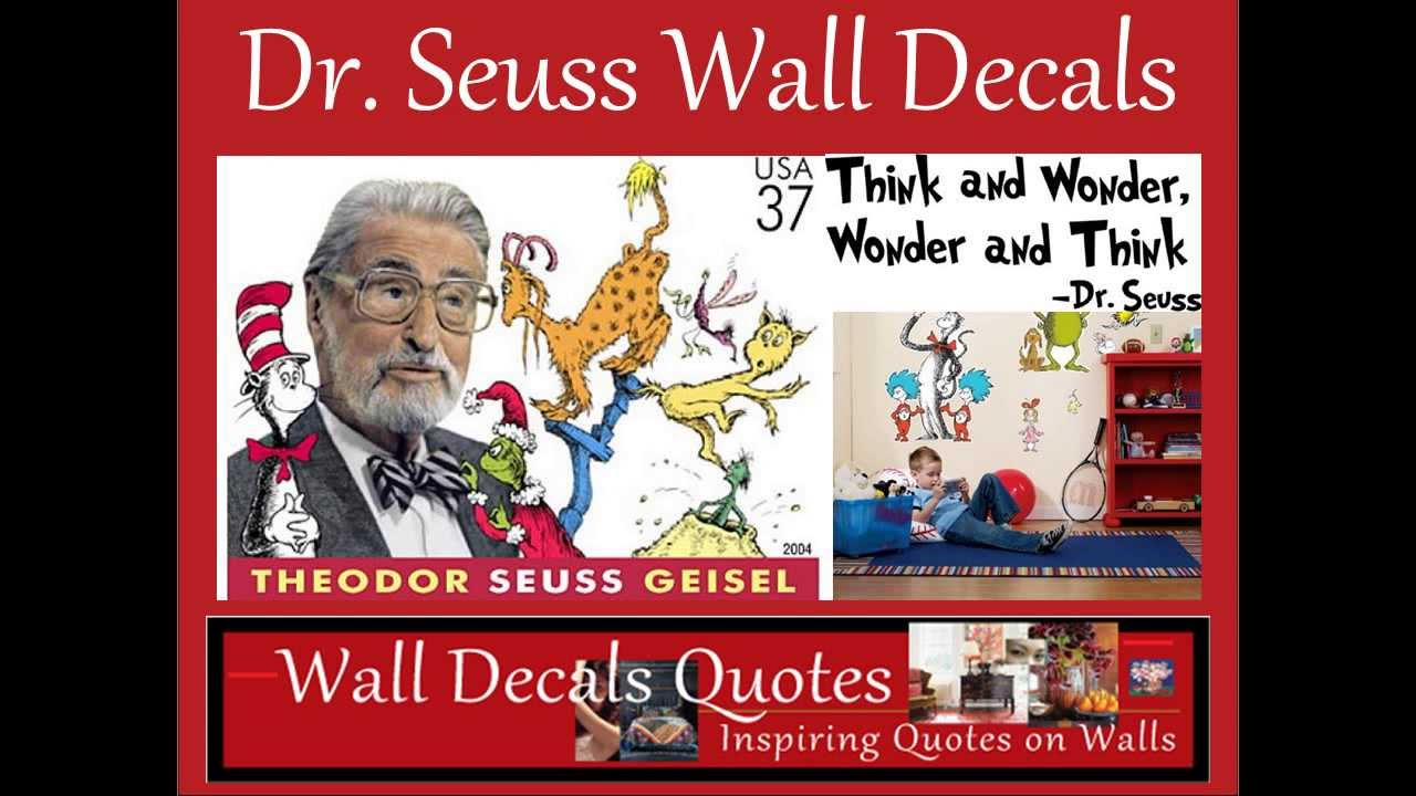 Dr Seuss Wall Decals YouTube
