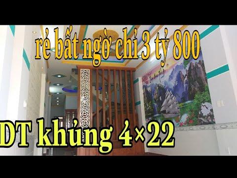 Bán nhà thuận an phường Bình Hòa. Gần Thủ Đức. Dt: 4×22 giá 3 tỷ 800
