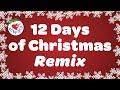 12 Days of Christmas Remix   Christmas Song with Lyrics 2019