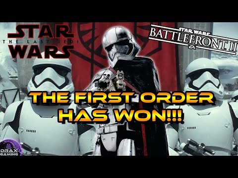 The First Order, WINNERS of the Last Jedi Season! Thoughts on Progression (Star Wars Battlefront 2)
