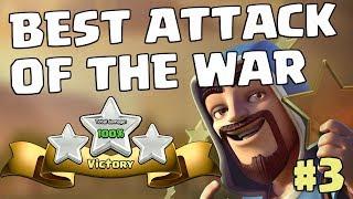 BEST ATTACK OF THE WAR #3 - TH11 E-DRAG BAT | Mister Clash, CLASH OF CLANS