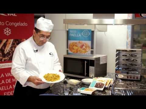 Paellas Gastraval- How to prepare a frozen chicken and vegetable paella