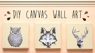 DIY Canvas Wall Art | INDONESIA