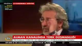 Vatan haini Can Dündar, Alman kanalında Türkiye düşmanlığı yaparken, bir Alman Türkiye'yi savundu