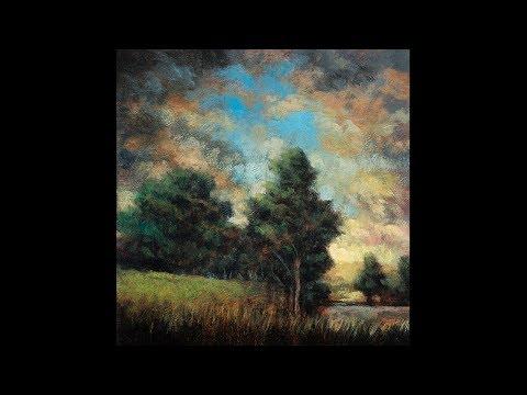 Morning Hillside 5×5 Tonalist Landscape Oil Painting Demonstration