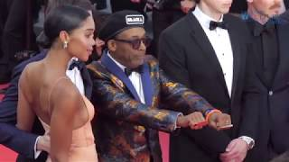 Spike  Lee BlacKkKlansman World Premiere  71 Cannes Film Festival  Red Carpet