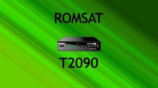 Т2 тюнер Romsat T2090(, 2016-04-07T22:19:15.000Z)
