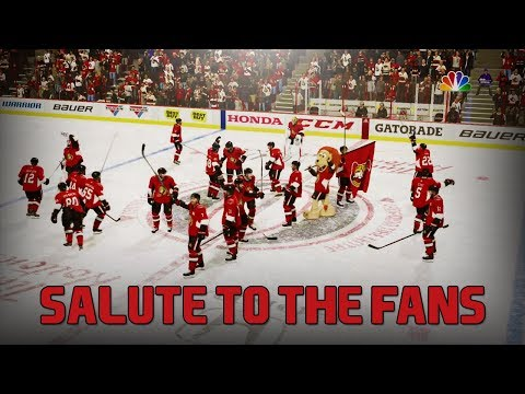 SALUTE TO THE FANS - NHL 18 - Ottawa Senators Be A Pro Ep. 21