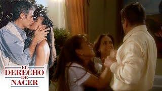El derecho de nacer - Capítulo 8: ¡Rafael quiere que Maria Elena aborte! | Televisa