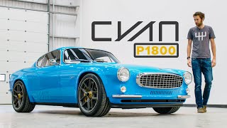 Volvo P1800 Restomod By Cyan Racing: Road Review | Carfection 4K