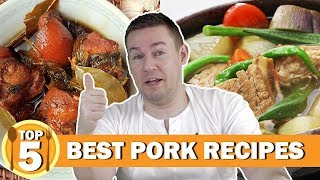 Top 5 Filipino pork recipes (Learn how to cook Filipino food) | Chris Urbano