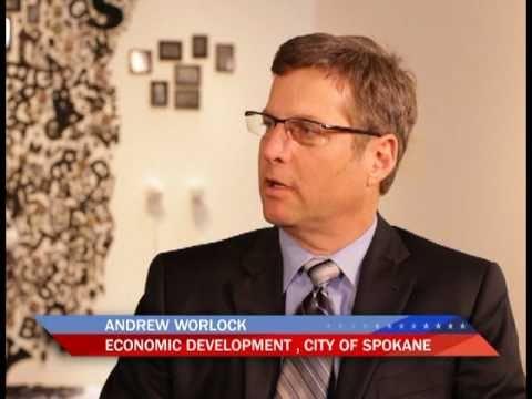 Andrew Worlock, City of Spokane, Economic Development Specialist