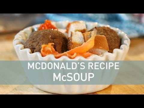Insane McDonald's Recipe: French Fry Soup