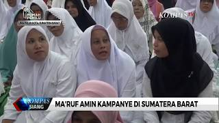 Hadiri Tabligh Akbar di Sumbar, Ma'ruf Klarifikasi Isu PKI yang Menerpa Jokowi