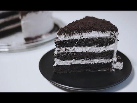 Oreo Cake Recipe 오레오 케이크 만들기 | 한세